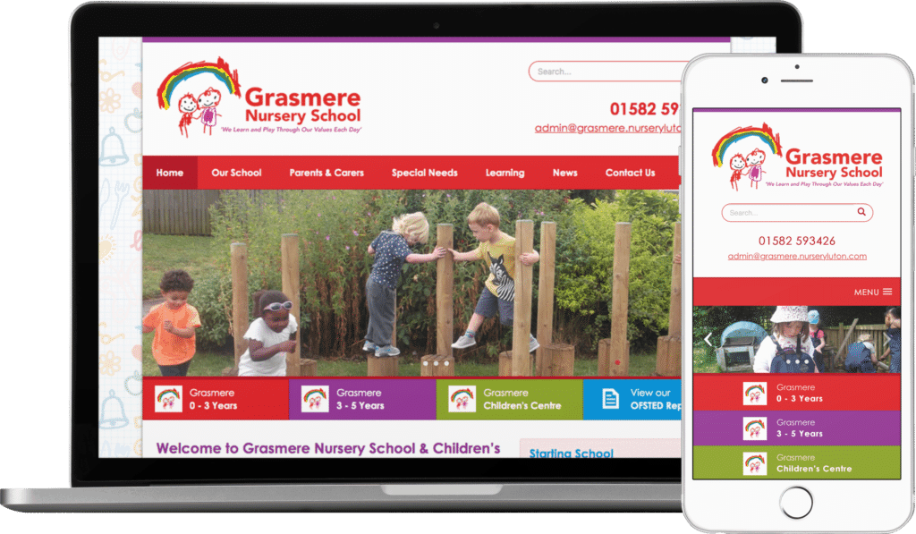 Grasmere Nursery School website