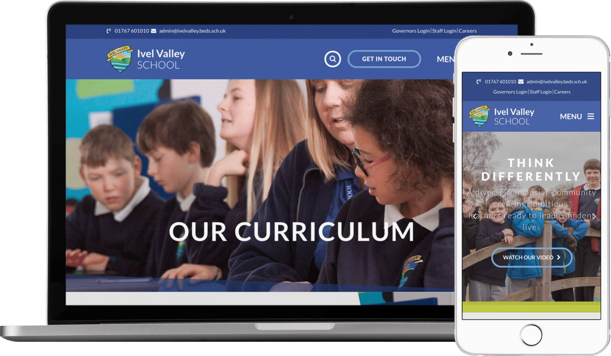 Ivel Valley School website